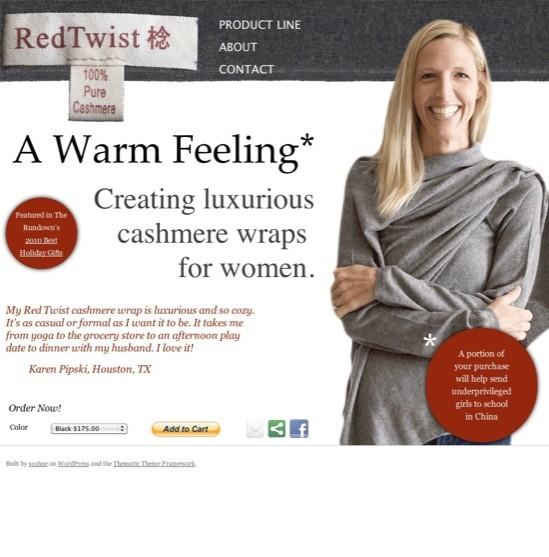 Red Twist Site Build