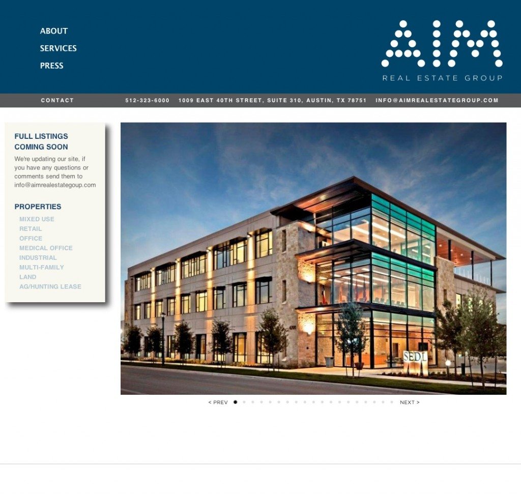 AIM Real Estate Group Site Build