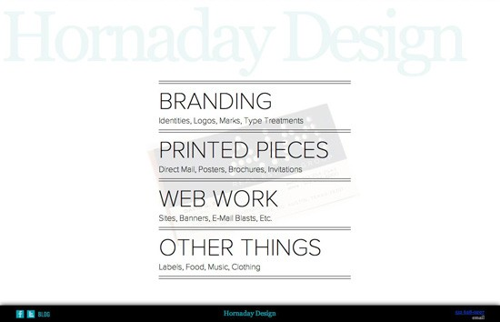 Hornaday Design Site Build
