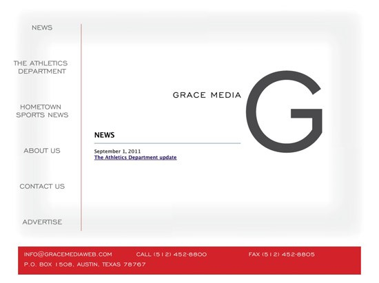 GraceMedia Site Upgrade