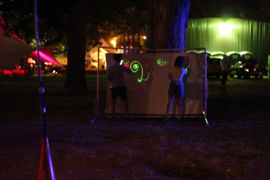 Light Doodler at Art Outside 2011