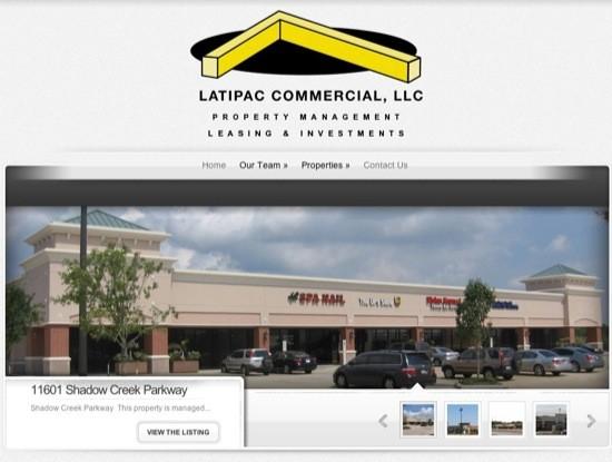 Latipac Commerical Site Build