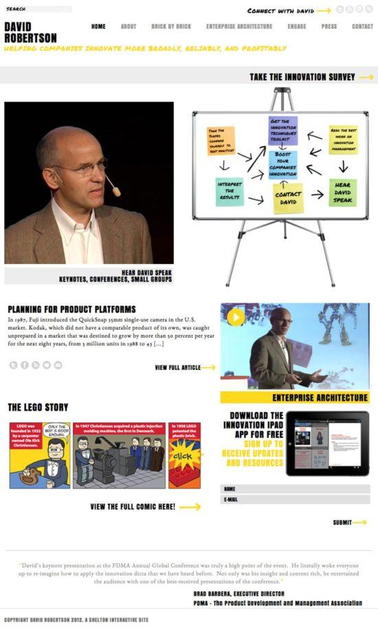 Shelton Interactive Site Build