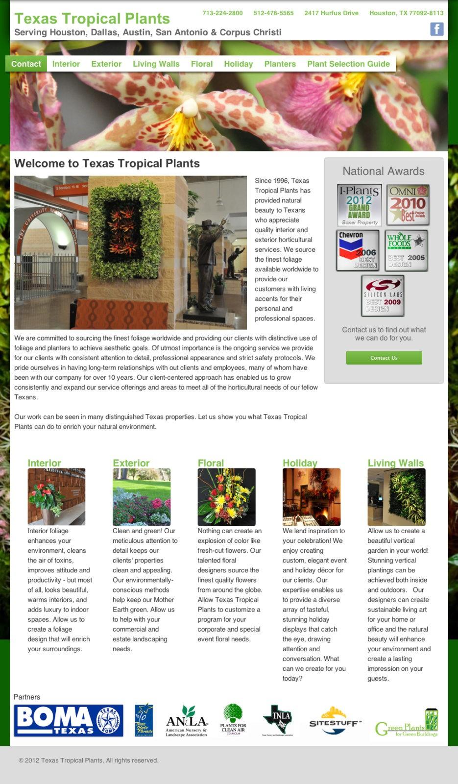 Texas Tropical Site Build