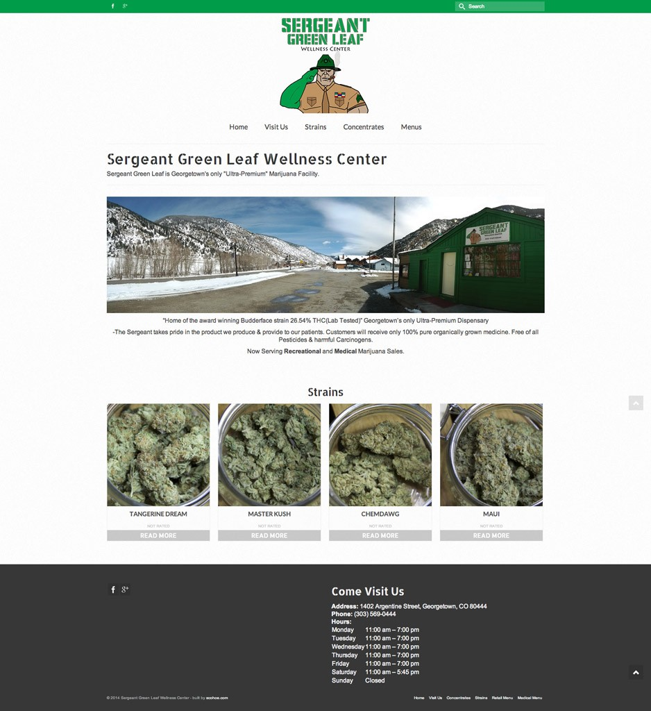 Sergeant Green Leaf Site Build