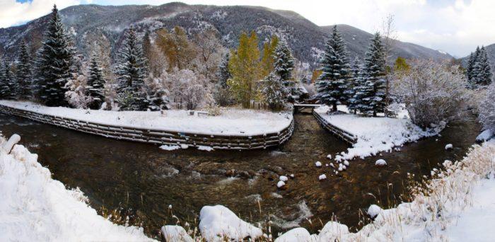 Snow River Panorama